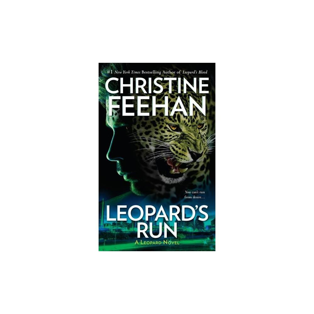 Leopard's Run - Lrg (Thorndike Press Large Print Romance Series) by Christine Feehan (Hardcover)