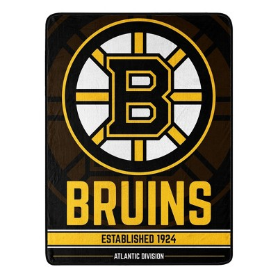 NHL Boston Bruins Micro Throw Blanket