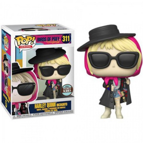 Funko Dc Birds Of Prey Pop Heroes Harley Quinn Vinyl Figure 311 Specialty Series Incognito Target