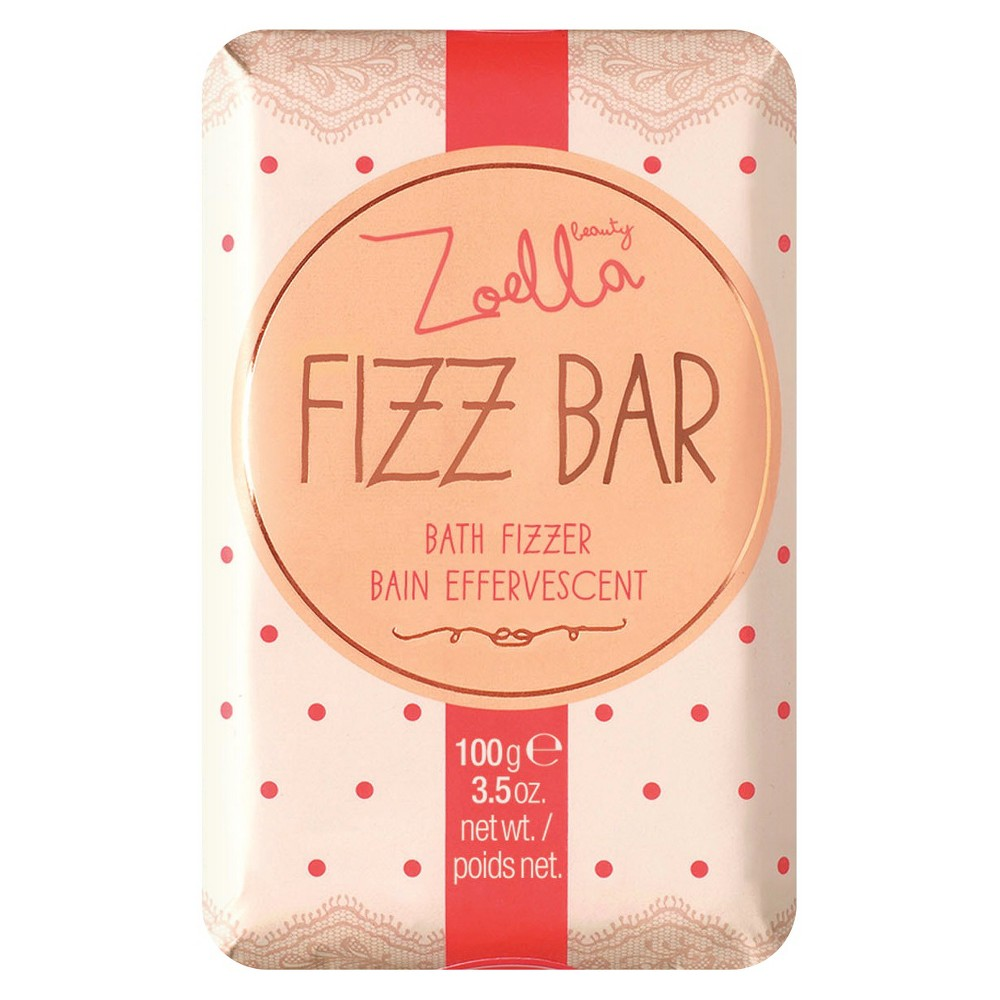 Zoella Beauty Fizz Bar Bain Effervescent Bath Fizzer 3.5 oz