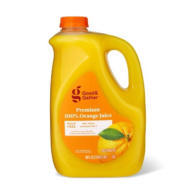 Pulp Free 100% Orange Juice Not From Concentrate - 89 fl oz - Good & Gather™
