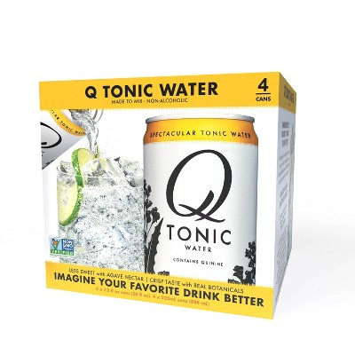 Q Mixers Tonic Water - 4pk/7.5 fl oz Cans