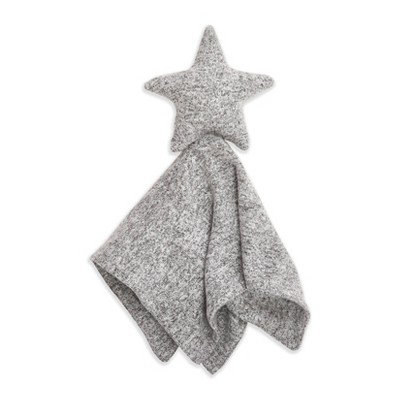 Aden + Anais Snuggle Knit Security Blanket Heather Gray
