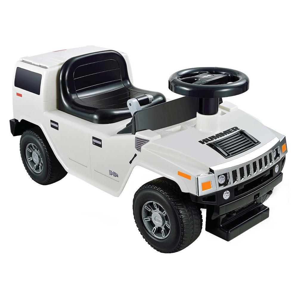 Kid Motorz Hummer H2 Foot to Floor White