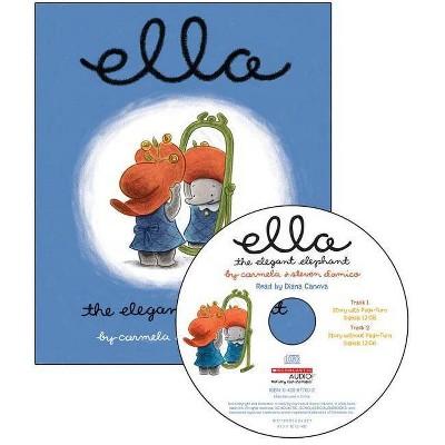 Ella the Elegant Elephant - Audio - by  Steven D'Amico & Carmela D'Amico (Mixed Media Product)