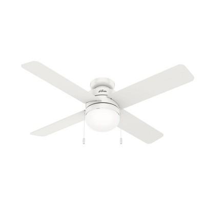 """52"""" Timpani Low Profile Ceiling Fan (Includes LED Light Bulb) - Hunter Fan"""