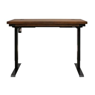 Addison Electric Sit/Stand Desk Auburn - Martin Furniture