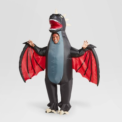 Adult One Size Inflatable Dragon Halloween Costume Bodysuit - Hyde & EEK! Boutique™