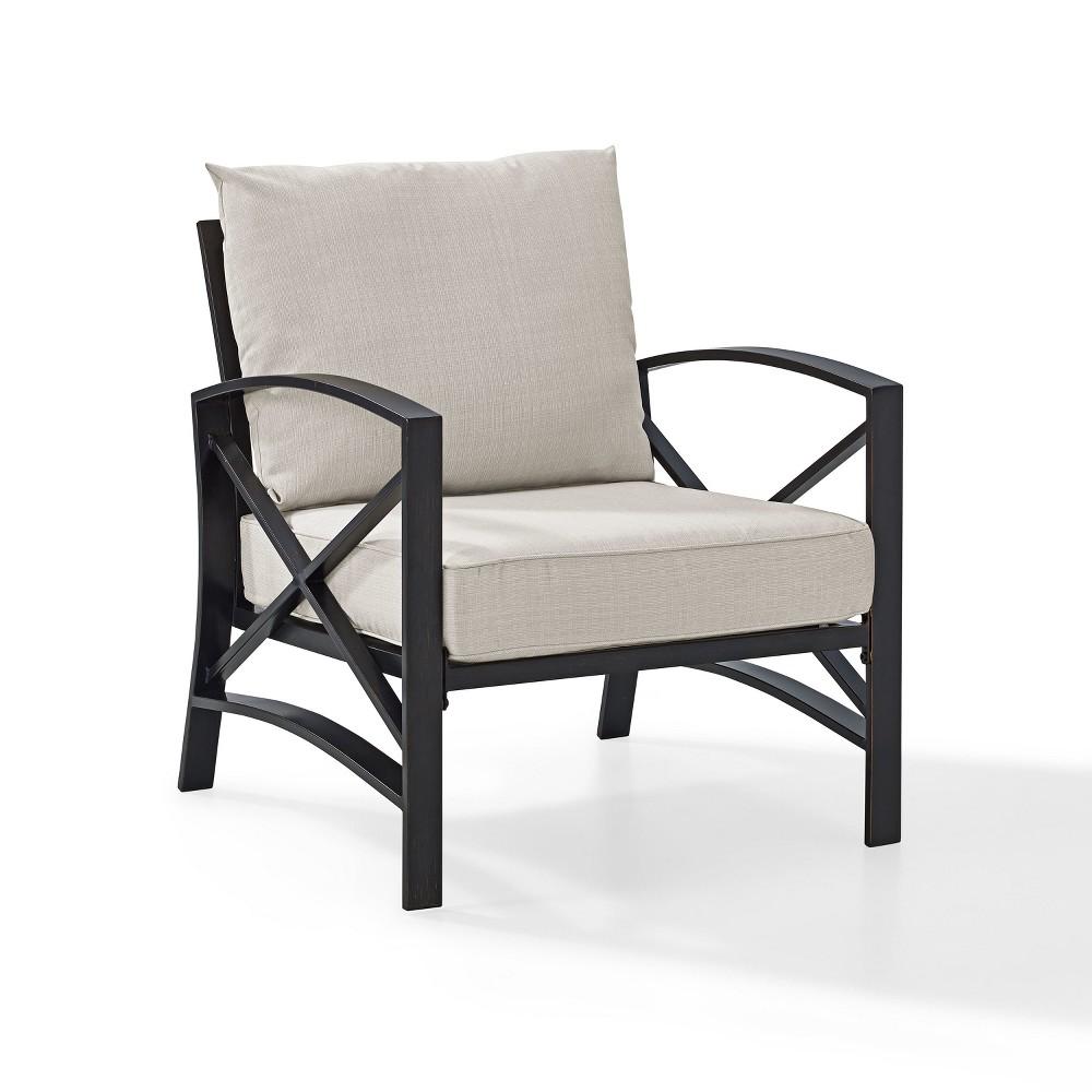 Kaplan Outdoor Arm Chair Oatmeal Crosley