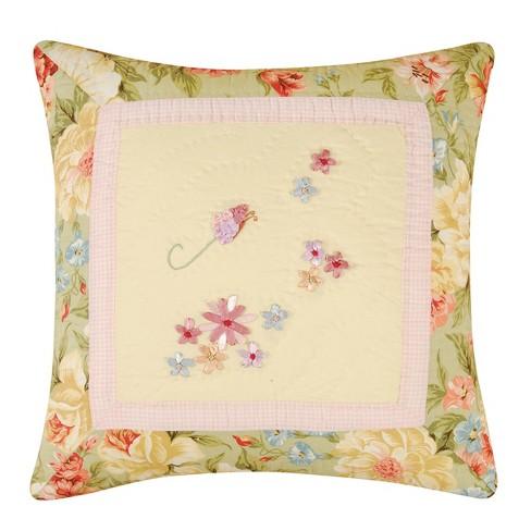 C&F Home Garden Melody Ribbon Art Pillow - image 1 of 1