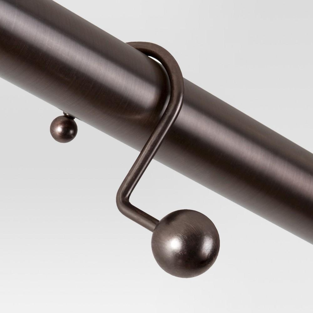 Orb Home Ball Shower Hooks Bronze - Threshold