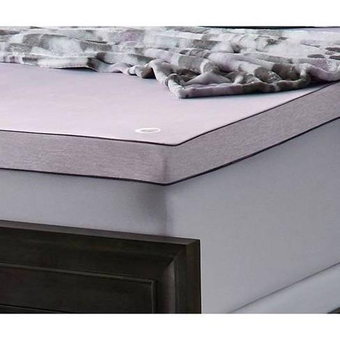 Aromatherapy Memory Foam Mattress Topper Lavender - Comfort Revolution - image 1 of 4