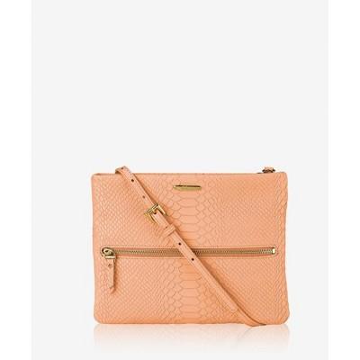 GiGi New York Orange Cathy Crossbody Bag