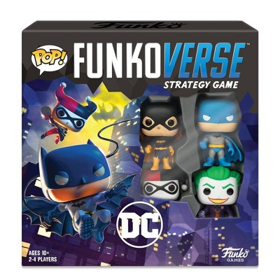Funkoverse Board Game: DC Comics #100 Base Set