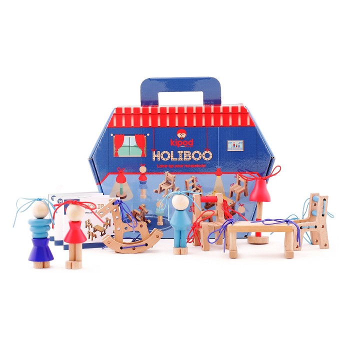 Kipod Holiboo Create Your Own Home Wooden Toy - image 1 of 9