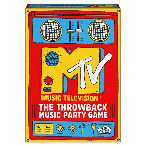 Big Potato MTV The Throwback Music Party Game - image 1 of 4
