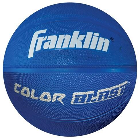 Franklin Sports Colorblast Basketball - Blue - image 1 of 1