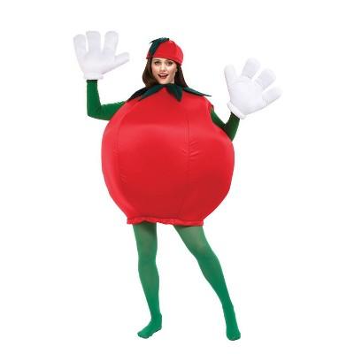 Adult Tomato Halloween Costume One Size