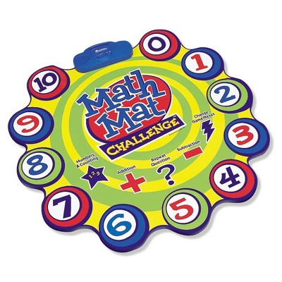 Learning Resources Math Mat Challenge Game, Early Math Skills, Ages 4+