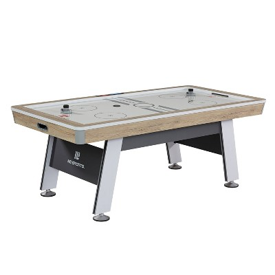 "MD Sports Hinsdale 84"" Air Powered Hockey Table - Brown"