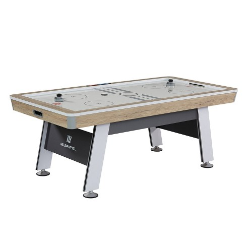"""MD Sports Hinsdale 84"""" Air Powered Hockey Table - Brown - image 1 of 4"""