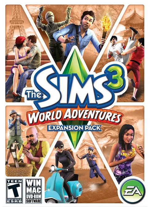 The Sims 3: World Adventures - PC/Mac Digital - image 1 of 1
