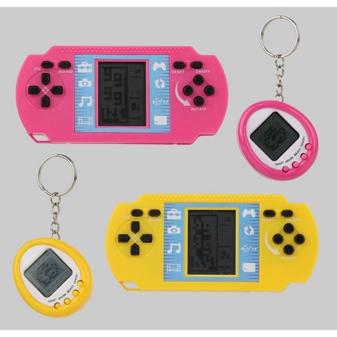4pk Retro Tech Games Pink/Yellow - Bullseye's Playground™ - image 1 of 5