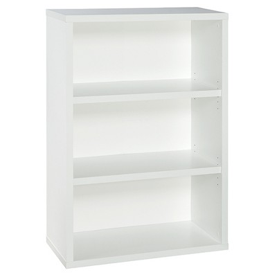 "44"" 3 Shelf Bookshelf White - ClosetMaid"