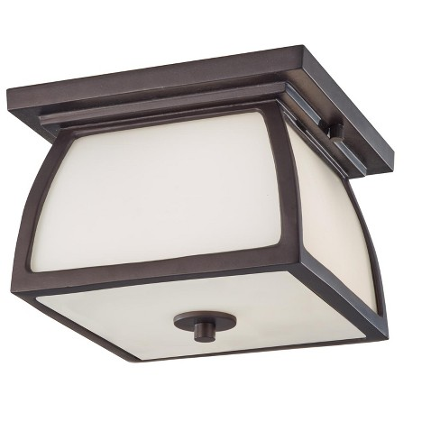 Generation Lighting Wright House 2 light Oil Rubbed Bronze Outdoor Fixture OL8513ORB - image 1 of 2