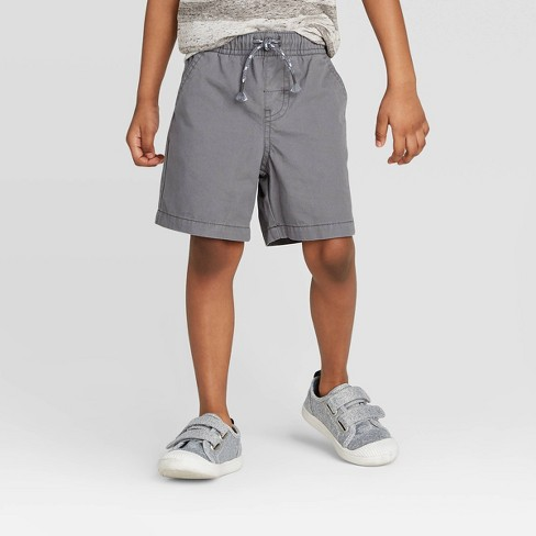 Toddler Boys' Pull-On Shorts - Cat & Jack™ Gray - image 1 of 3