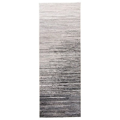 Feizy Micah Contemporary Abstract Gray Area Rug