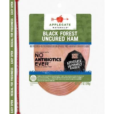 Applegate Natural Uncured Black Forest Ham - 7oz
