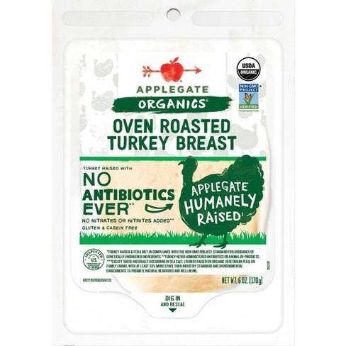 Applegate Organic Oven Roasted Turkey Breast - 6oz - image 1 of 4