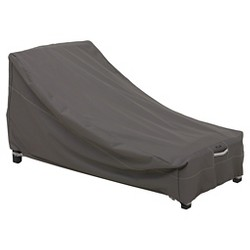 Ravenna Large Patio Day Chaise Cover - Dark Taupe - Classic Accessories