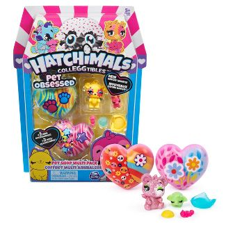 Hatchimals CollEGGtibles Pet Obsessed Pet Shop Blind Pack