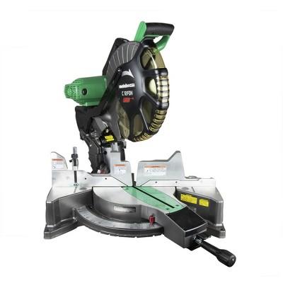 Metabo HPT C12FDHSM 15 Amp Dual Bevel 12 in. Corded Miter Saw with Laser Guide Manufacturer Refurbished