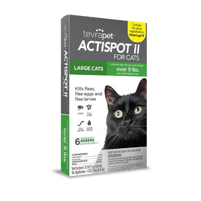 Tevra Pet Actispot II Flea Prevention for Cats - 6 Doses