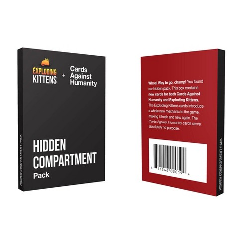 Hidden Compartment Pack Game Target