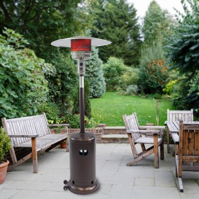 Deluxe Patio Heater Hammered Bronze - Dyna-Glo