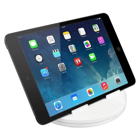 "Macally Tablet Stand Up to 10"" - White (SPINMOUNT) - image 1 of 4"