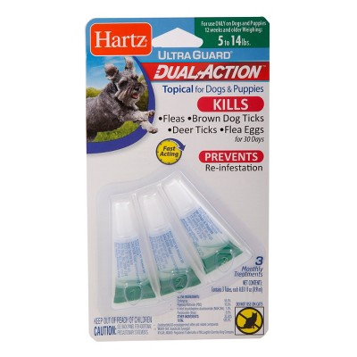 Hartz Dual Action Insect Prevention - S