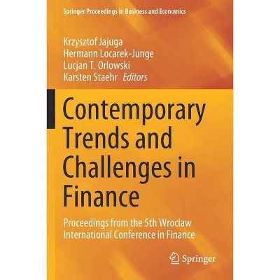 Contemporary Trends and Challenges in Finance - (Springer Proceedings in Business and Economics) (Paperback)