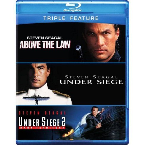 Above The Law / Under Siege 1 & 2 (Blu-ray)