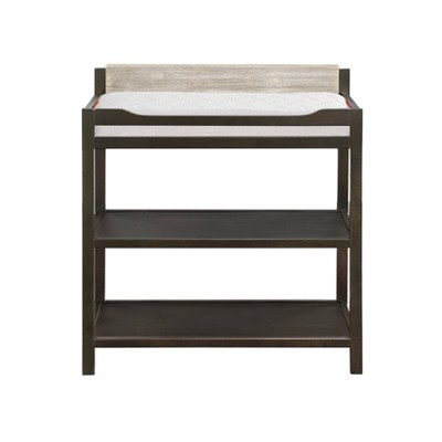 Suite Bebe Hayes Changing Table - Coffee/Weathered Stone