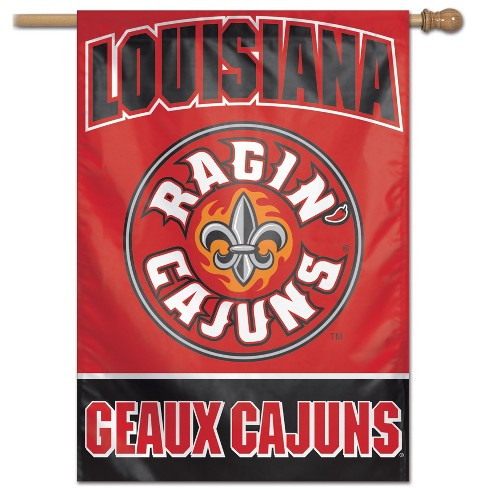 NCAA Louisiana Ragin Cajuns Vertical Banner - image 1 of 1