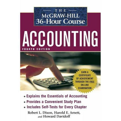The McGraw-Hill 36-Hour Course: Accounting - (McGraw-Hill 36-Hour Courses) 4 Edition (Paperback) - image 1 of 1