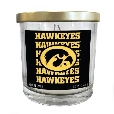 NCAA Iowa Hawkeyes Echo Team Candle