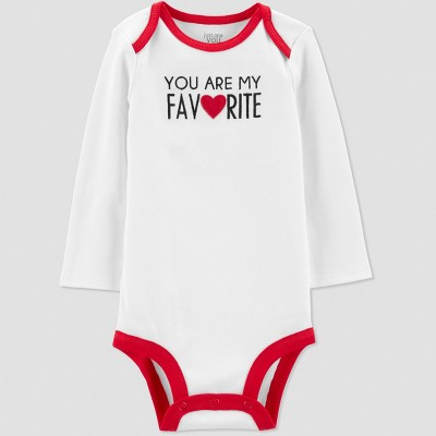 Baby You Are My Favorite Bodysuit - Just One You® made by carter's Ivory Newborn