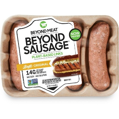 Beyond Meat Plant-Based Original Brats - 4pk/14oz