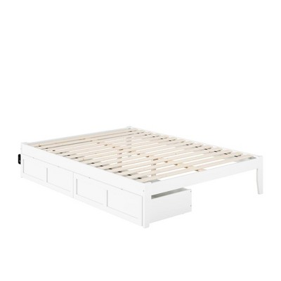Colorado Bed with USB Turbo Charger and 2 Extra Long Drawers - Atlantic Furniture